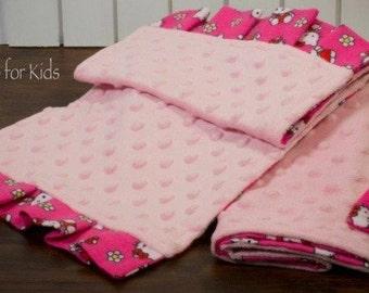 Hello Kitty Burp Cloth Set of 2 (item#126)