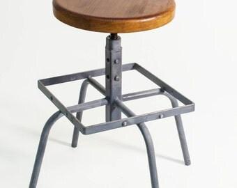 tabouret de bar pivotant etsy. Black Bedroom Furniture Sets. Home Design Ideas