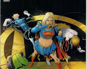 DC Comics SUPERGIRL & The Legion of Super-Heroes #23 Mark Waid Barry Kitson Cosmic Boy Element Lad Saturn Girl Light Lass Brainiac 5