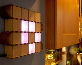 Wooden Bits - Laser Cut Wooden Binary Block