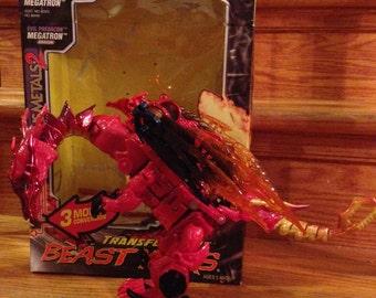 Beast Wars Megatron Dragon and Inferno