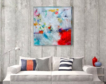 Abstract painting on canvas,  Modern art abstract painting, Original art work, Canvas art acrylic painting, Acrylic painting canvas art
