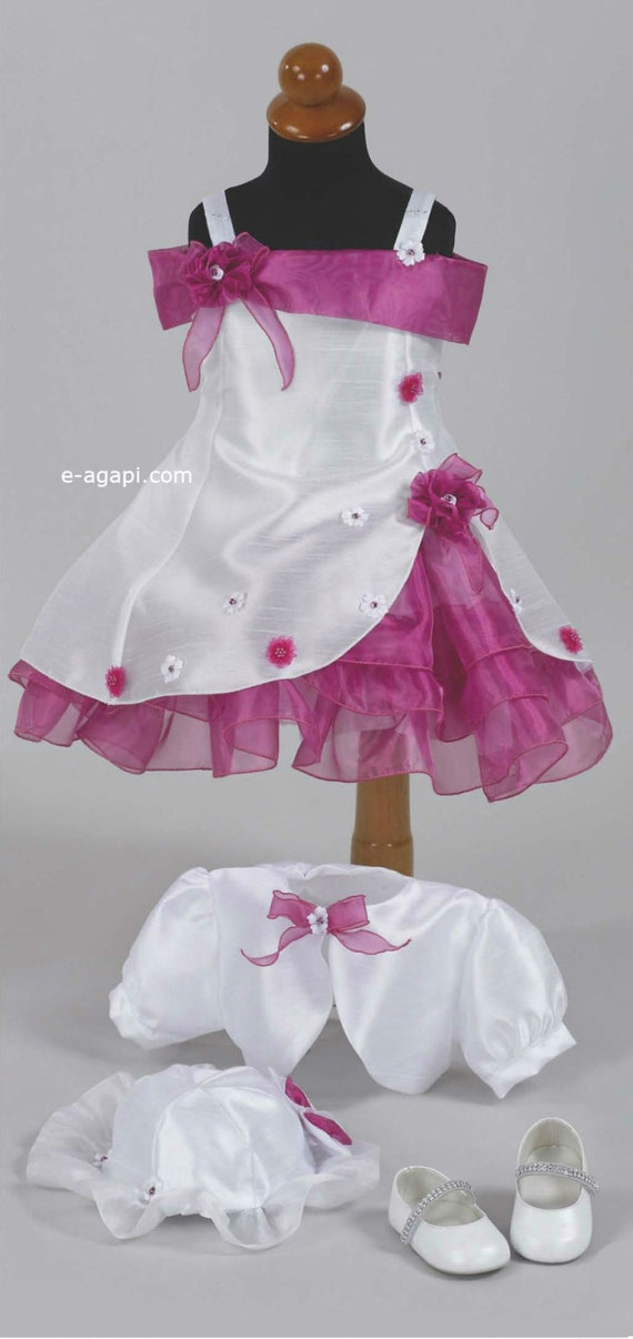 Couture Baby girl flower girl dress SET Elegant baby