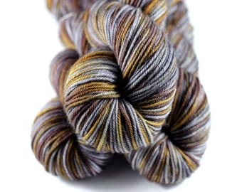Golden Charr DK: 100% Superwash Merino Handpainted Yarn