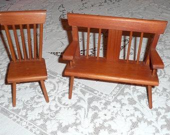 Handmade Wooden Doll Furniture