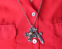 Captain Hook Pirate Necklace Once Upon A Time