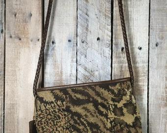 Small Shoulder Bag, Purse - Relic Handbags - Cross Body handbags - Tapestry Handbags - small leather purse