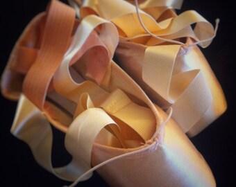Ballet Photograph, Ballerina Photo, Dance Photograph, Ballet Shoe Photo, 5x7, 8x10