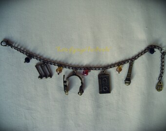 Bracelet with Music charms