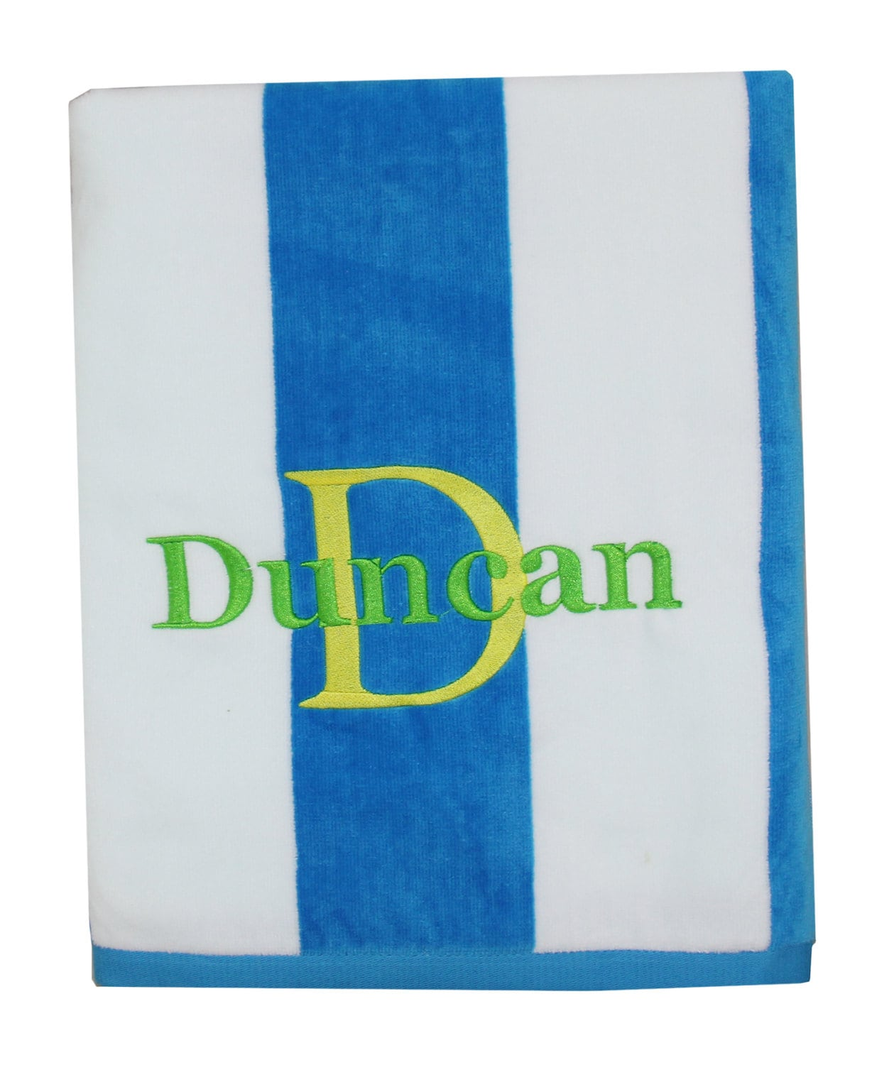 Personalized beach towels for kids are perfect for showing summer style while keeping track of your beach gear. Personalize your custom beach towels with a photo, name or initials, free! Personalized Kids Beach Towels. Personalized Boys Word-Art Throw (1) P. $ Embroidered Royal Blue Polka Dot Beach Towel (1) P.