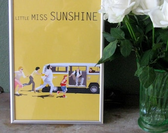 Little Miss Sunshine movie poster - A4 print