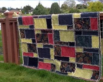 Fields of Love Rag Quilt Pattern