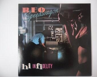 REO Speedwagon Hi Infidelity LP Record Album