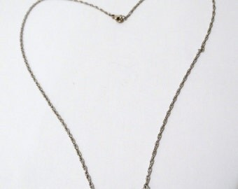 "Free Shipping James Avery Triple Rose 17"" Vintage necklace."