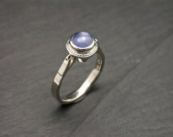 Blue sapphire ring white gold, Blue sapphire rings, Rings blue, Gemstone rings, gold gemstone ring, natural star sapphire, blue stone