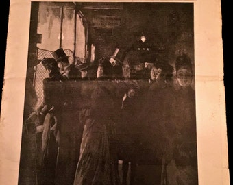 1898 Harpers Bazar : January Edition                                                                                        VG1354
