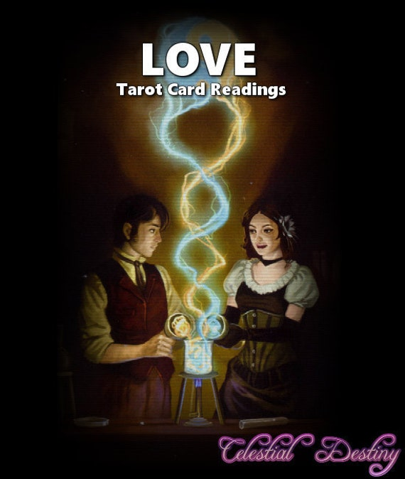 LOVE Tarot Card Reading Soul Mate Lover Ex-Lover Custom
