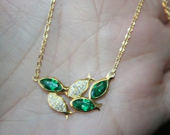 Huge Sale Very Elegant  14K yellow , Gold Fish , Pisces sign,  Sterling  Silver    Necklace Stunning