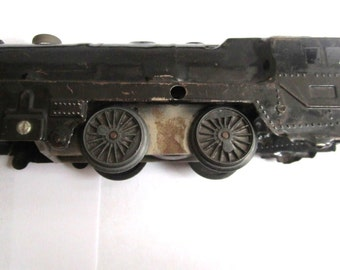 Vintage Metal Toy Train Engine
