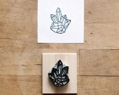 Raw Quartz No. 2 - Hand Carved Stamp