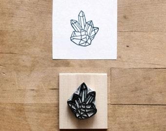 Raw Quartz No. 2 - Hand Carved Stamp