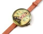Limited Edition Art Watch - Blonde Fairy Art Watch