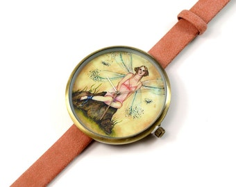 Limited Edition Art Watch - Blonde Fairy Art Watch