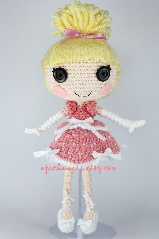 Pattern Cinder Cinderella Crochet Amigurumi Doll