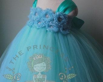 mint flower girl dress, mint flower girl dresses, mint dress, girls dress, baby dress, mint tutu dress, tutu dress, wedding dress,