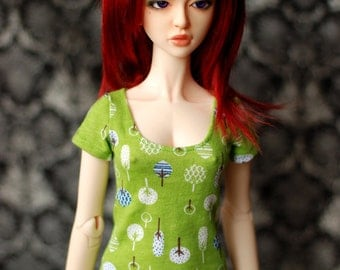 SD Green Tree Top For 1/3 BJD