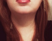 Silver Hair Clips - Gold Hair Clips - Metal hair clips - Metal hair jewelry - Wire hair cuffs - Metal hair pins - Metal Hair Accessories