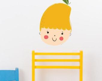 Mango Removable Wall Sticker | LSB0177WHT-MMS
