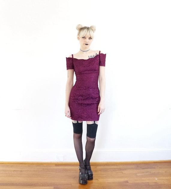 Grunge style prom dress