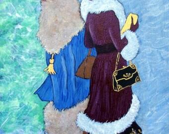 "Ladies in Art - ""Ladies Day Out"" - Painting by Lorraine Skala"