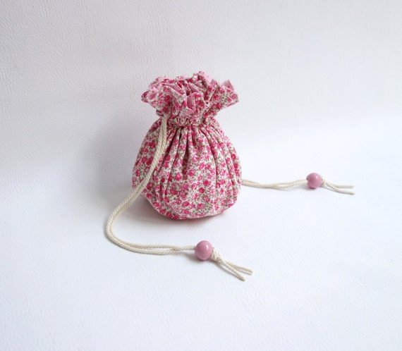 Jewelry drawstring bag travel jewelry organizer by for Drawstring jewelry bag pattern