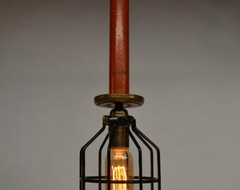 popular items for wooden pendant light on etsy