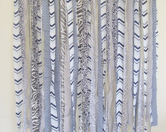 "Chevron Fabric Backdrop | Photography Backdrop | Streamer Backdrop Garland | Photo Booth Backdrop | 30"" by 36"" - More Sizes Available"
