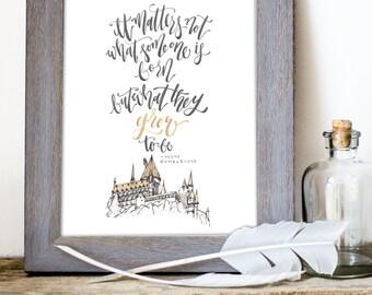 Harry Potter - Epics Print