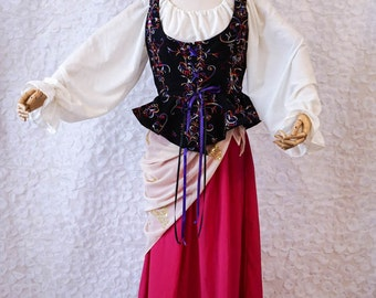 Gypsy, Esmerelda, Fortune Teller, Wench, or Bohemian - Size 12