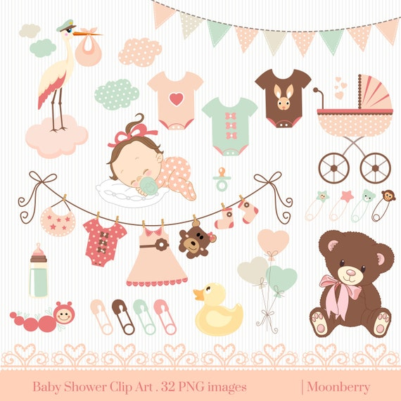 clipart for baby shower cards - photo #6