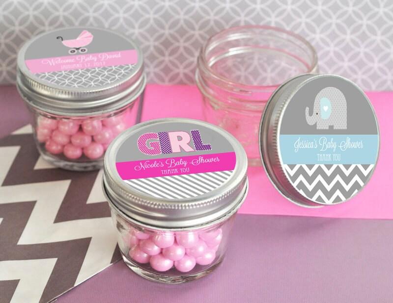 baby shower mini mason jar favors 4 oz mason jar small by modparty