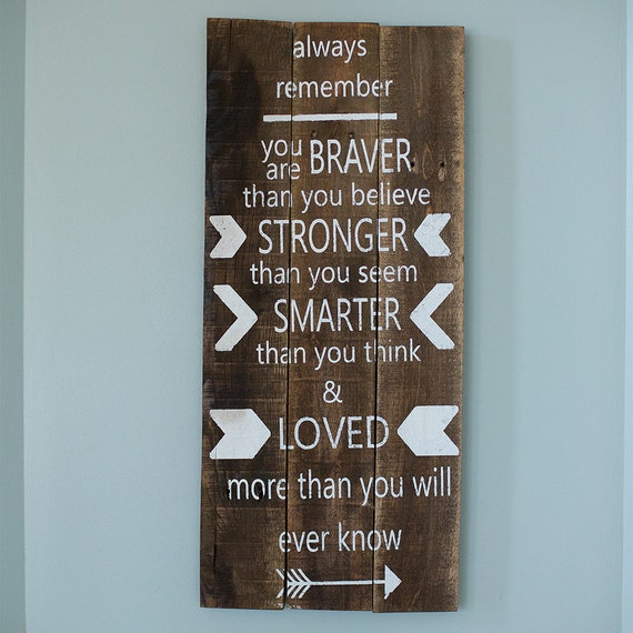 Always Remember You Are Loved: Always Remember You Are Braver Stronger Smarter By
