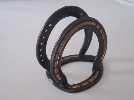 Items similar to rustic napkin holder kitchen housewares for Horseshoe kitchen decor