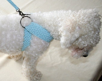 Friendly DOG harness, Matching leash, Pets Harness - Small dog harness