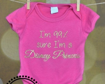 Disney Princess Outfit for Baby or Toddler