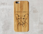 Customizable iPhone Case- Bamboo Wood
