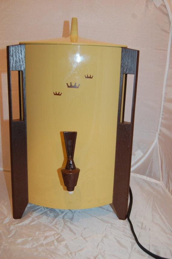 Regal Coffee Maker Instructions : 70s REGAL 10-30 Cup Automatic Electric Coffee Maker
