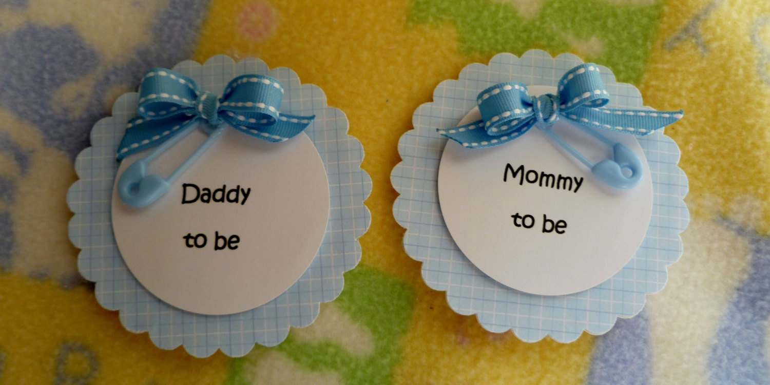 baby shower corsage baby shower pin mom to be