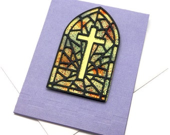Happy Easter Card - Easter Cross Card - Cards For Easter - Greetings Cards - Dad and Mom Card - Friendship Card - Christian Cards