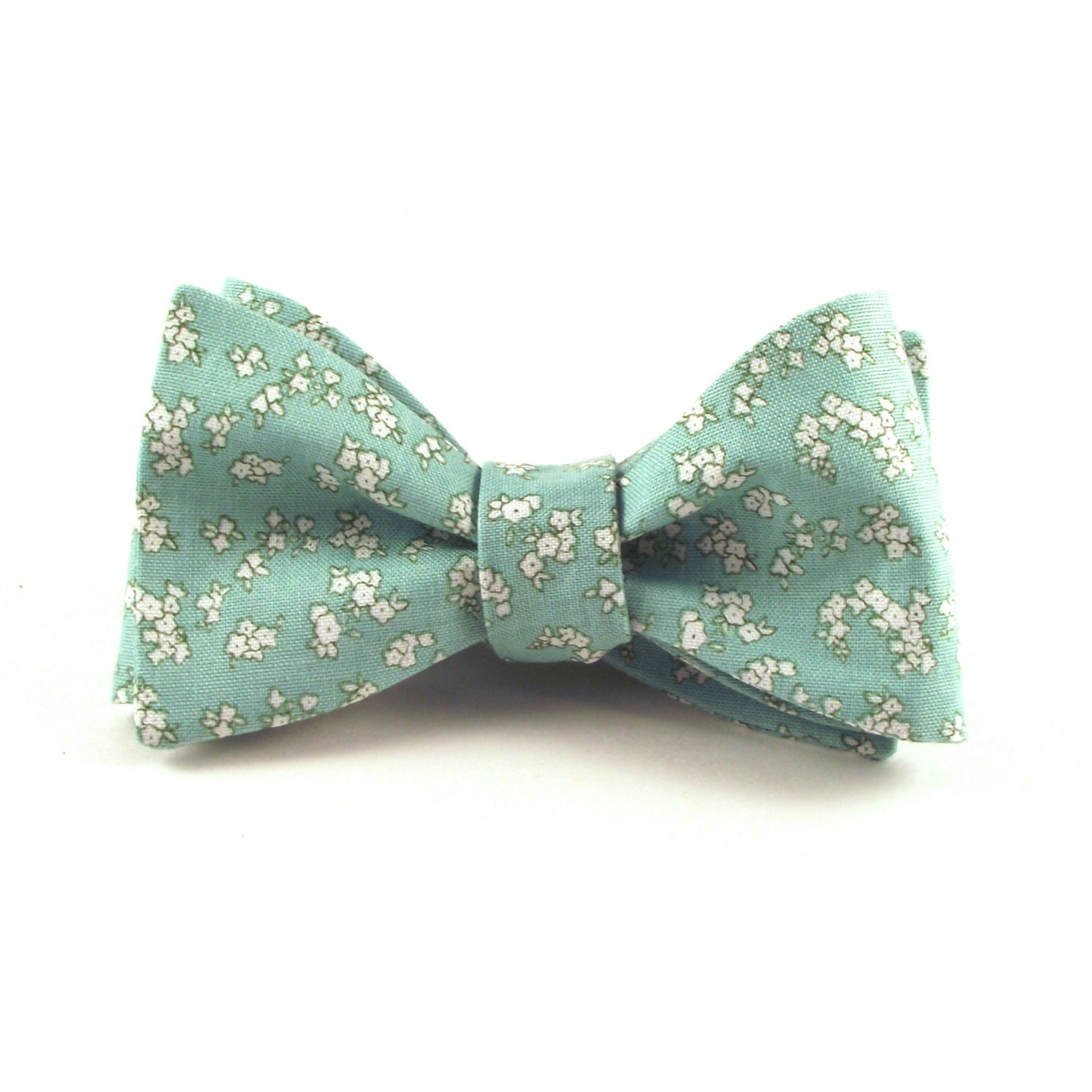mint bow tie s floral bow tie groom s mint green